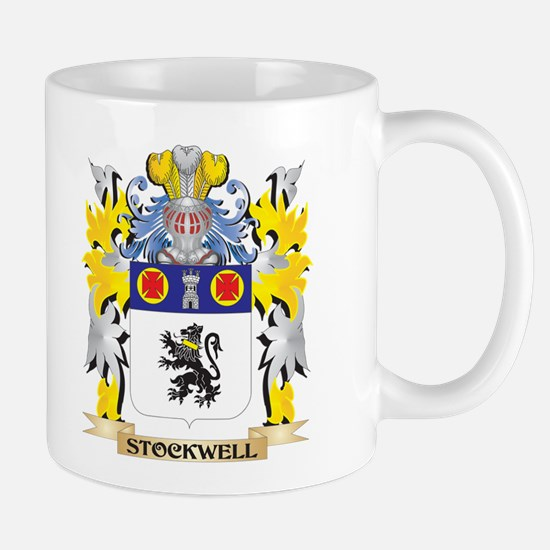 Stockwell Family Crest - Coat of Arms Mugs