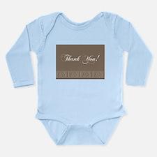 Thank You Roses Long Sleeve Infant Bodysuit