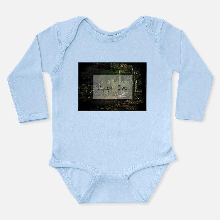 Woodland Trail Long Sleeve Infant Bodysuit