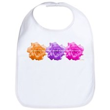 Rose Quote Bib