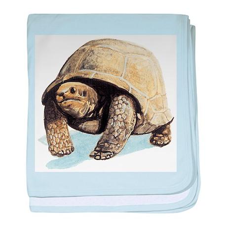 Galapagos Tortoise baby blanket