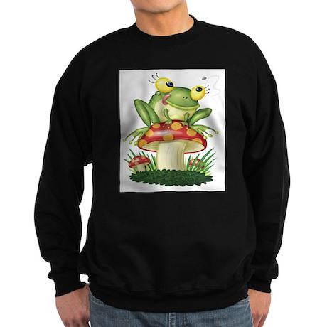 Frog & Toad stool Sweatshirt (dark)