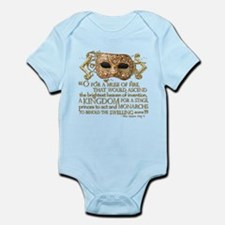 Henry V Quote Infant Bodysuit