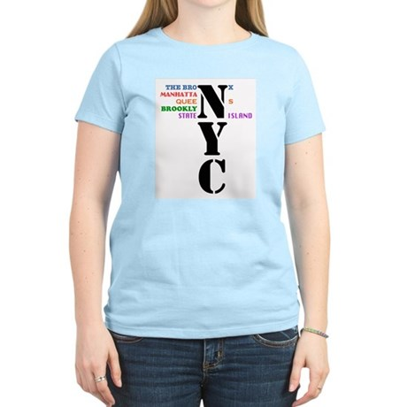 NYC Big Apple All-Stars Women's Light T-Shirt