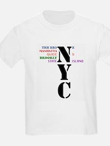 NYC Big Apple All-Stars T-Shirt