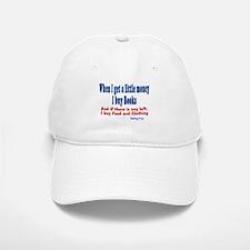 I Buy Books Baseball Baseball Cap