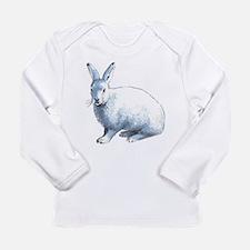 Arctic Snow Hare Long Sleeve Infant T-Shirt