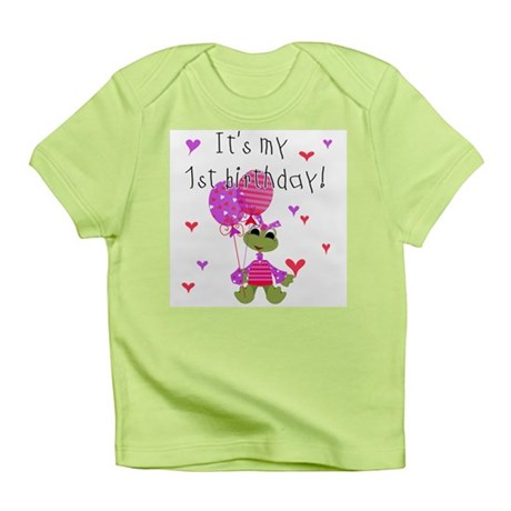 Frog It's My 1st Birthday Infant T-Shirt