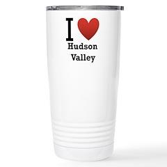 I Love Hudson Valley Stainless Steel Travel Mug