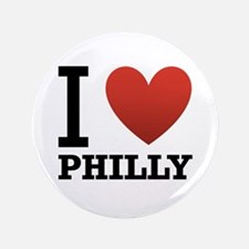 "I Love Philly 3.5"" Button"
