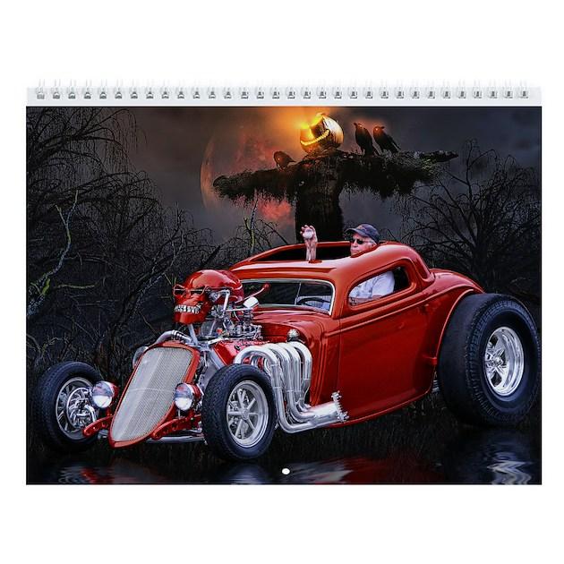 Hot Rod Wall Calendar 1 By Ratrodstudios
