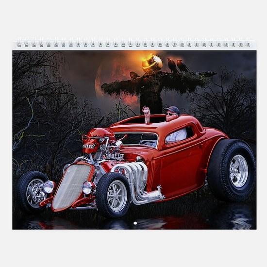 Hot Rod Wall Calendar 1