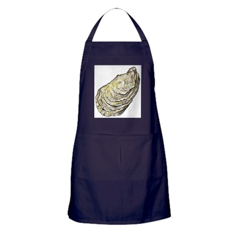oyster shell Apron (dark)