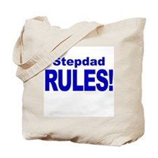 Stepdad Rules! Tote Bag