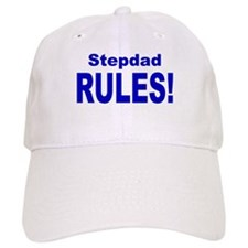 Stepdad Rules! Baseball Cap