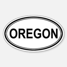 Oregon Euro Oval Decal