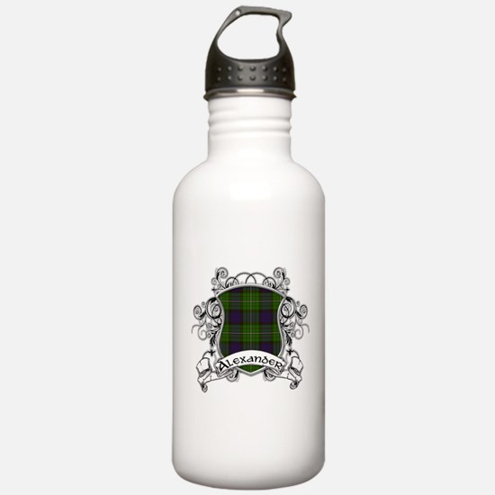Alexander Tartan Shield Sports Water Bottle