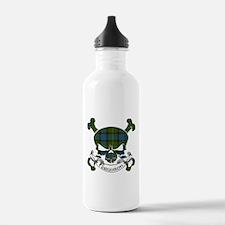 Ferguson Tartan Skull Water Bottle