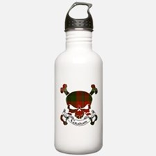 Graham Tartan Skull Sports Water Bottle