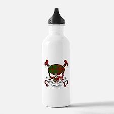 Grant Tartan Skull Water Bottle