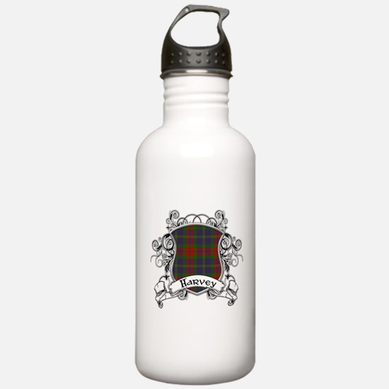 Harvey Tartan Shield Sports Water Bottle