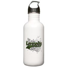 Kennedy Tartan Grunge Water Bottle