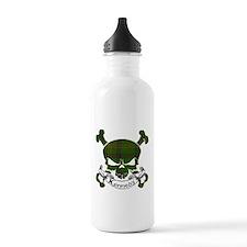 Kennedy Tartan Skull Water Bottle