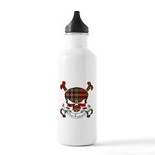 MacFarlane Tartan Skull Water Bottle