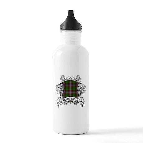 Russell Tartan Shield Stainless Water Bottle 1.0L