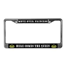 Unique Queen License Plate Frame