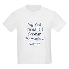 My Best Friend is a German Sh Kids T-Shirt