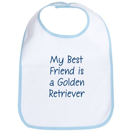 My Best Friend is a Golden Re Bib