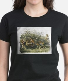 Fairies playing with a Robin Tee