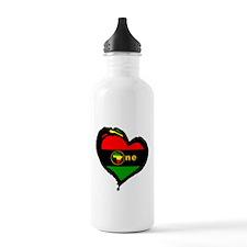 Afro Rasta Afrika Water Bottle