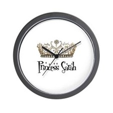 Princess Sarah Wall Clock
