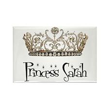 Princess Sarah Rectangle Magnet