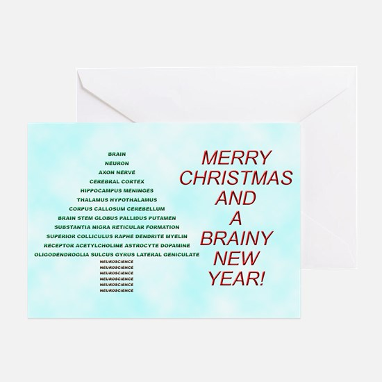 Brain Tree Greeting Card