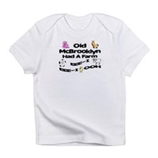 Old McBrooklyn Had a Farm Infant T-Shirt