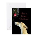 Greyhound Greeting Cards (10 Pack)