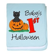 Baby's First Halloween baby blanket