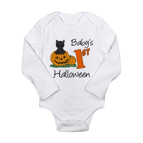 Baby's First Halloween Long Sleeve Infant Bodysuit