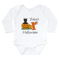 Baby's First Halloween Long Sleeve Infant Bodysuit