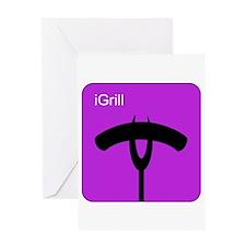 iGrill Purple Greeting Card