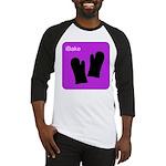 iBake Purple Baseball Jersey