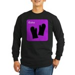 iBake Purple Long Sleeve Dark T-Shirt