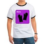 iBake Purple Ringer T