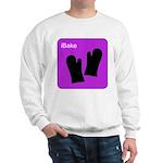 iBake Purple Sweatshirt
