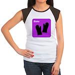 iBake Purple Women's Cap Sleeve T-Shirt