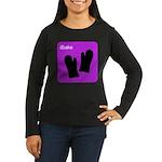 iBake Purple Women's Long Sleeve Dark T-Shirt