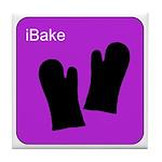iBake Purple Tile Coaster